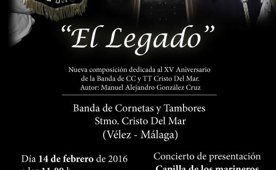 Cartel concierto Capilla de los Marineros